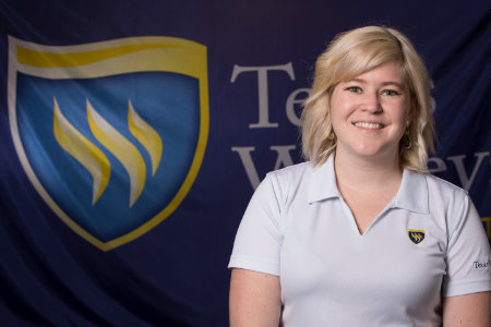 Graduate Counselor at Texas Wesleyan University, Amy Orcutt