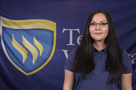 Mylah Hand is a graduate admissions counselor at Texas Wesleyan University