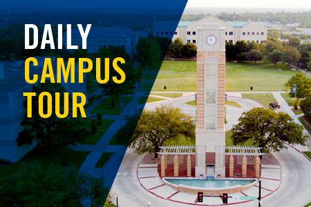 Take a Daily Campus Tour of Texas Wesleyan today