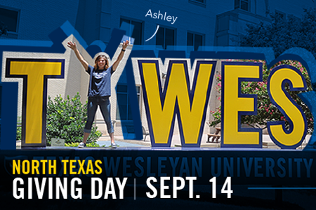 Ashley Reynolds is an elementary education major at Texas Wesleyan University.