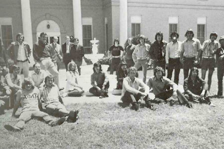 Greek picture from 1981 yearbook
