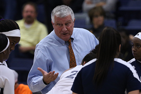 Head Women's Basketball Coach Bill Franey retires after six seasons at Texas Wesleyan.