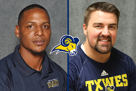 Quincy Butler (Secondary Coach) & Kyle Cox (Wide Receivers/Passing Game Coordinator)
