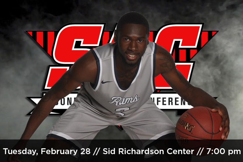 Men's Basketball will host MACU in an SAC Quarterfinal on Tuesday, February 28.