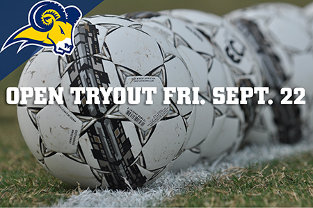 TXWES Men's Soccer will hold an open tryout on Friday Sept. 22.