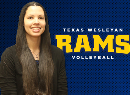 Photo of Texas Wesleyan's new volleyball coach, Jessica Ransom