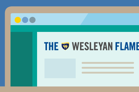 News image to accompany a story about the Texas Wesleyan Flame