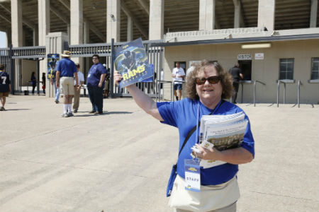 Texas Wesleyan's inaugural football season is underway and the university is recruiting faculty, staff, alumni and students to volunteer on Game Day to help with everything from selling and taking tickets to driving golf carts.