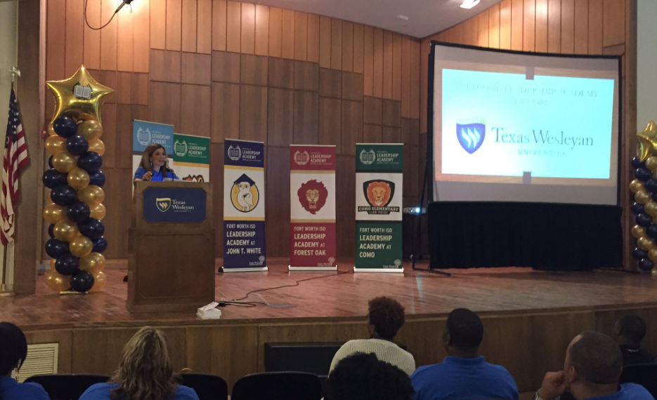 Photo from the TXWES/FWISD Welcome Back Event