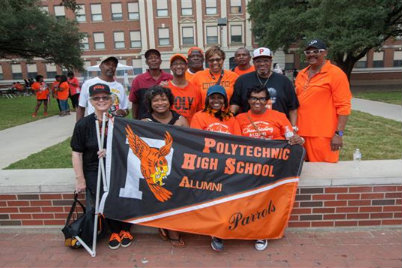 Polytechnic High School is proud to announce its annual Homecoming Parade.  This year's event will kick-off at 11 a.m. sharp on Saturday, Sept 30, from Poly High School. Poly extends an invitation to all Texas Wesleyan organizations and departments to join!