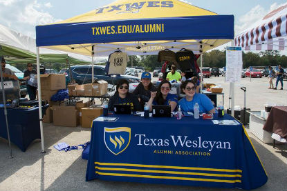 "Texas Wesleyan has plenty of fun planned for students and alumni during homecoming week. TXWES student organizations have already ""Decked Out Campus"" on the campus mall with banners and letters, and the annual Ram Rally, a pep rally introducing the men's (reigning NAIA DI National Champions) and women's basketball teams was a success."