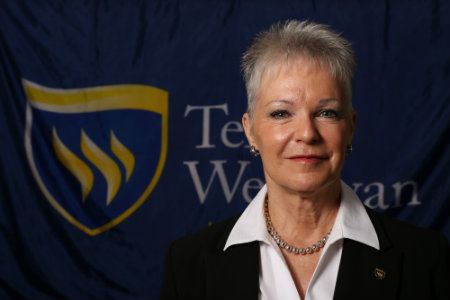 Pati Alexander, Vice President for Enrollment and Student Services at Texas Wesleyan University