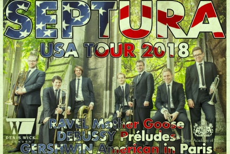 Septura Brass USA tour flier