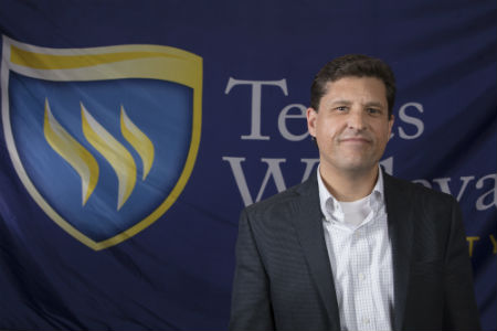 Religion Professor at Texas Wesleyan, Mark Hanshaw Headshot