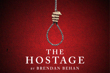 Artwork for Theatre Wesleyan's The Hostage
