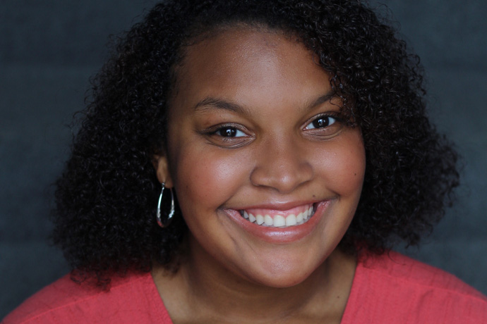 Theatre major Shanjala Davis-Allen