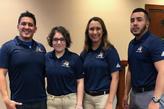 Photo of Texas Wesleyan Quiz Bowl Team.