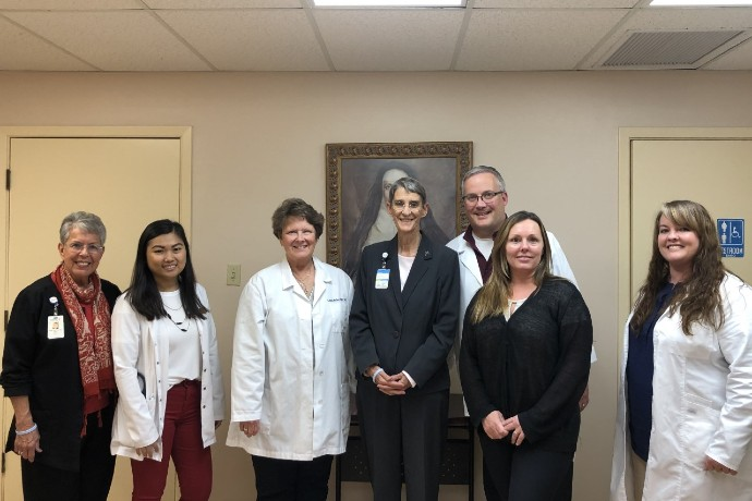 Pic of TX Wes FNP Hands-On Experience in Laredo.