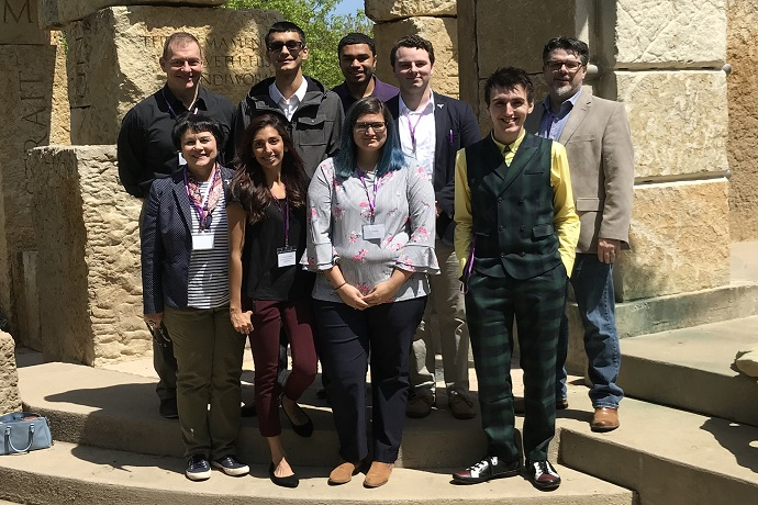 Students and faculty at Phi Alpha Theta Regional Conference at Abilene Christian University, April 5-6, 2019