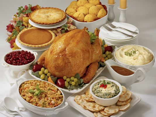 Photo of Thanksgiving Meal