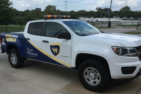 Campus Security Truck