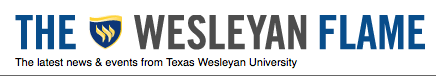 Header for the Wesleyan Flame e-newsletter