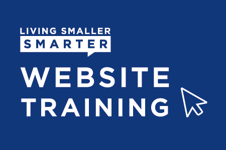 "Start living ""Smaller. Smarter."" by attending TerminalFour (T4) website training hosted by the Office of Digital Marketing & Strategy."