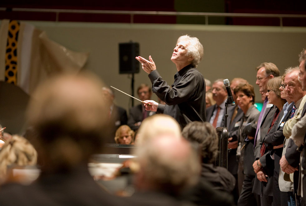 Roger Nierenberg, the internationally recognized symphony orchestra conductor and organizational behavior expert, will make his debut appearance at Texas Wesleyan at 2:30 p.m. on Thursday, April 16 in Martin Hall.