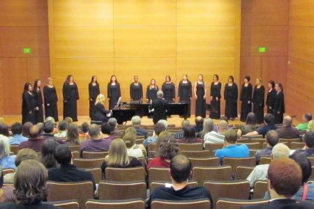 Texas Wesleyan Singers perform at Martin Hall