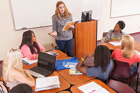 Benefit your students by receiving your Master's of Education degree.