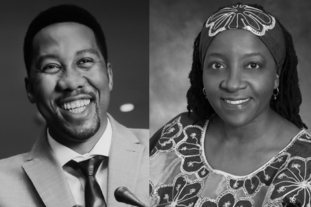 Ndaba Mandela, grandson of Nelson Mandela, and Naomi Tutu, daughter of Archbishop Desmond Tutu, will be the speakers at this year's Willson Lectureship at Texas Wesleyan University.