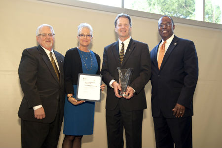 Texas Wesleyan University was selected from among five other community organizations, groups and institutions to receive the Tarrant County College South Campus Outstanding Community Partner Award for 2016.